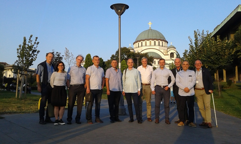 FVE BOARD MEETING Belgrade 2018 St. Sava church Belgrade